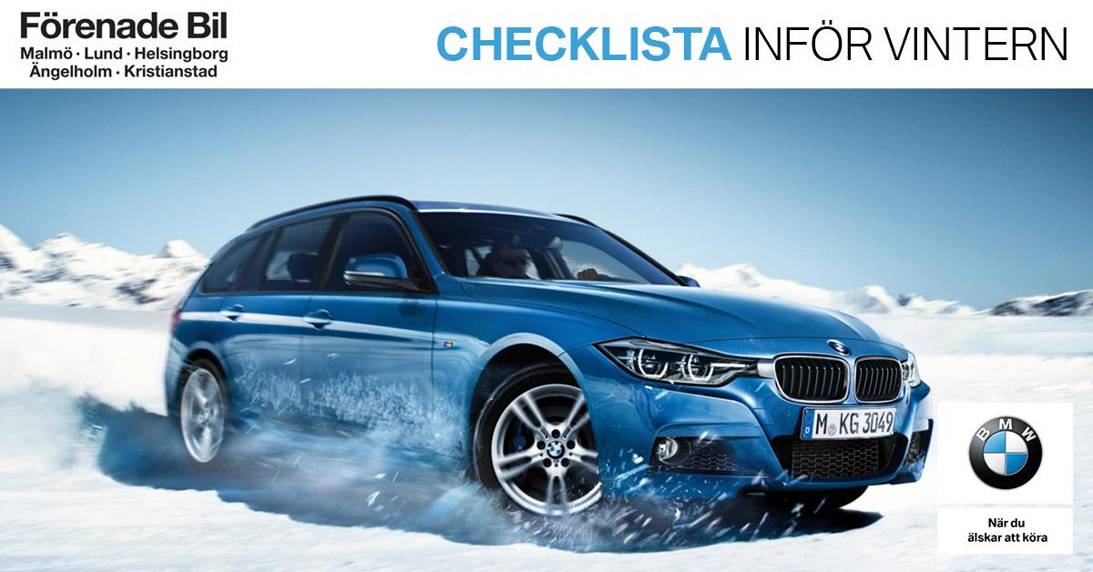 vinterdäck och annat för bilen inför vintern