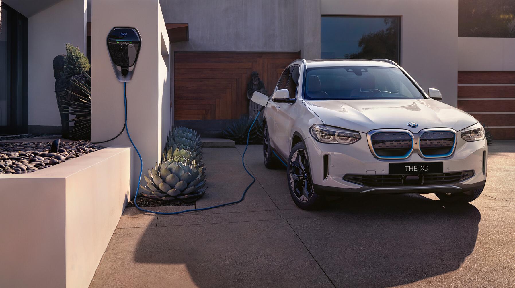 Nya helt elektriska BMW iX3